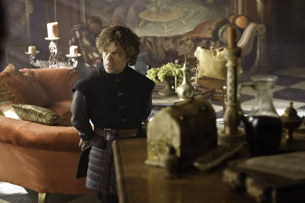 GAME OF THRONES episode 23 (season 3, episode 3): Peter Dinklage photo: Helen Sloan