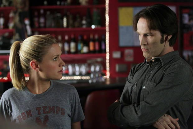 "Anna Paquin and Stephen Moyer of ""True Blood"" - HBO Photo by Doug Hyun"