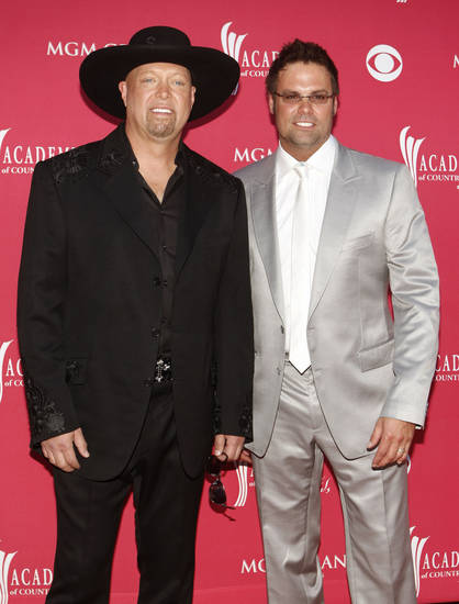 Country singing duo Montgomery Gentry