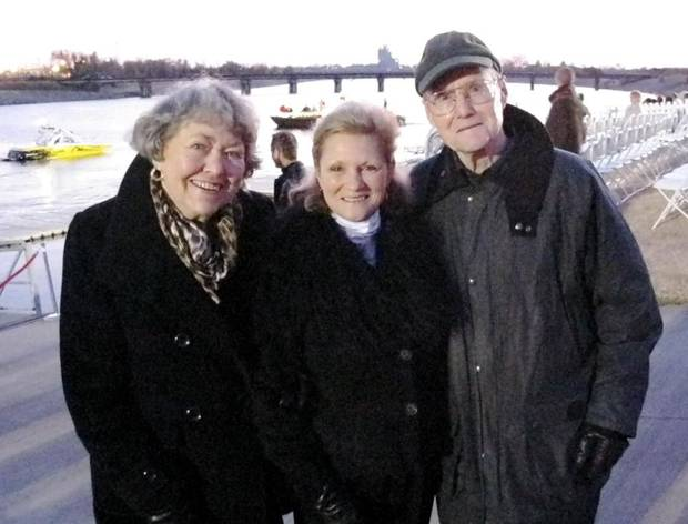 Marilyn Berg, Meg Salyer, Dave Sipperly.  - Photo By Lillie-Beth Brinkman, The Oklahoman