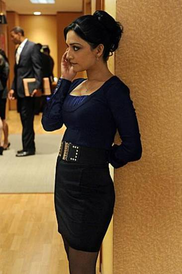"""And The Law Won""--Kalinda (Archie Panjabi) tries to keep focused on work despite the reappearance of her estranged husband, on THE GOOD WIFE, Sunday Oct 7 (9:00-10:00 PM, ET/PT) on the CBS Television Network. Photo: Jeffrey Neira/CBS √?¬©2012 CBS Broadcasting, Inc. All Rights Reserved"