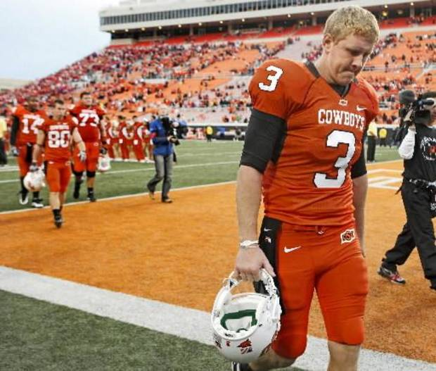 Disappointing loss for Weeden and the Pokes