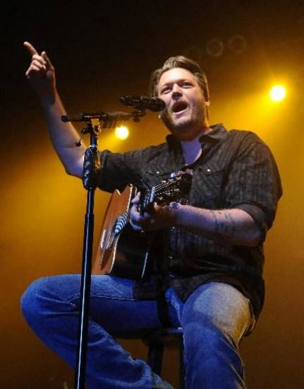 Blake Shelton (AP file)