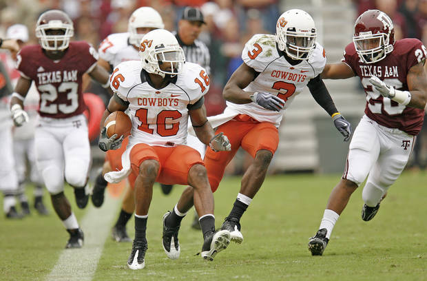 Oklahoma State cornerback and return specialist Perrish Cox will not play in the Cotton Bowl on Saturday after a violation of team rules. OSU officials didn't specify what rule he violated and said they would have no further comment. OKLAHOMAN ARCHIVE PHOTO