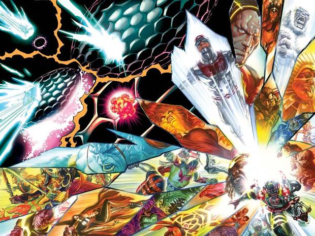Art by Jack Herbert and Alex Ross from &quot;Kirby: Genesis.&quot;