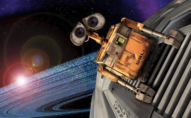 "In this image released by Walt Disney Co., a scene from the Disney/Pixar's animated feature, ""Wall-E"" is shown.  (AP Photo/Walt Disney Co.) ** NO SALES ** ORG XMIT: NYET288"