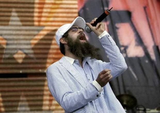 Matisyahu before he shaved his beard.
