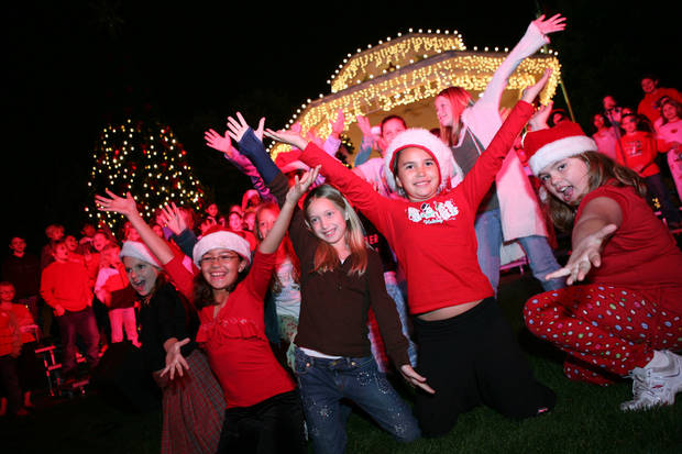 Grapevine, Texas, tranforms into a Christmas wonderland each holiday season, offering more than 1,400 holiday events that cater to adults and children. Photo provided. <strong></strong>
