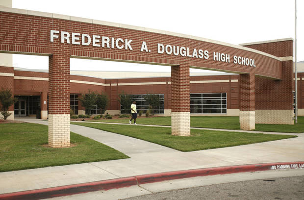 Douglass High School is shown Tuesday. PHOTO BY PAUL HELLSTERN, THE OKLAHOMAN