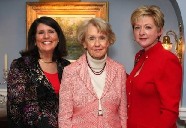 Mary Price, Donna Vogel, Jane Thompson. PHOTO BY DAVID FAYTINGER, FOR THE OKLAHOMAN