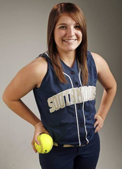 Southmoore's Katelyn Brown was named the Gatorade Oklahoma Softball Player of the Year on Thursday. Photo by Nate Billings, The Oklahoman