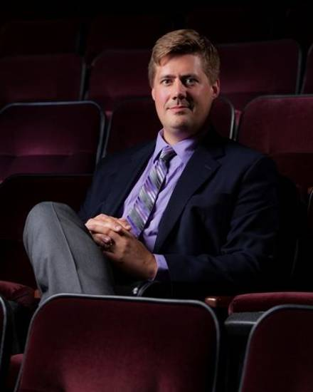 Michael Anderson is the new film curator at the Oklahoma City Museum of Art. Photo provided.