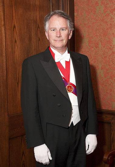 The 2012 Beaux Arts King is David E. Rainbolt. PHOTO BY DAVID FAYTINGER, FOR THE OKLAHOMAN