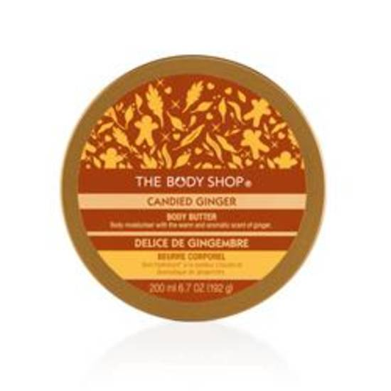Candied Ginger Body Butter from The Body Shop, $18.