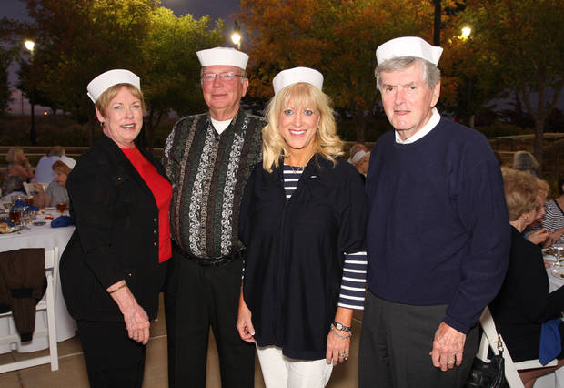 Rhona White, Jess White, Debbie and Ken McKinney also numbered among the sailors.