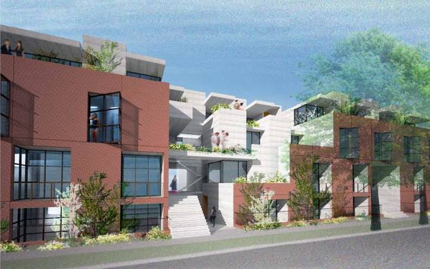 Apartments to be built at NW 12 and Frances by Midtown Renaissance.