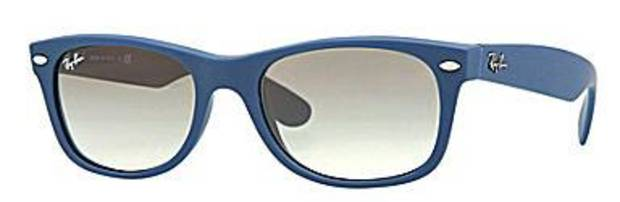 Ray Ban Wayfarer in blue, $130, at Dillard's