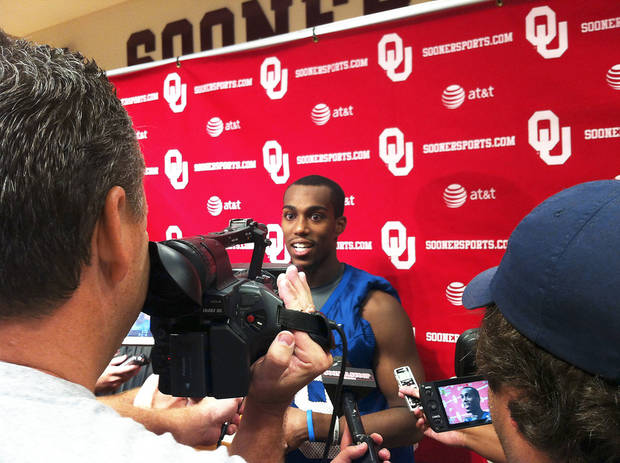 Justin Brown made a quiet visit to OU a couple weeks ago. He officially became part of the roster last week. Photo provided