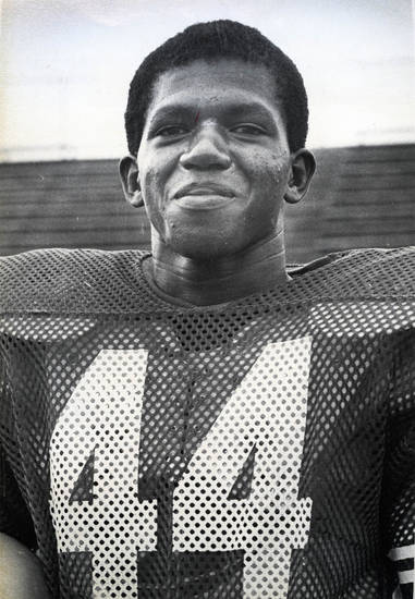 Lydell Carr, OU and Enid football standout. FROM THE OKLAHOMAN ARCHIVES