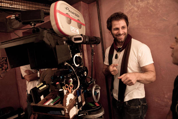 Director ZACK SNYDER during the filming of Warner Bros. Pictures and Legendary Pictures epic action fantasy SUCKER PUNCH, a Warner Bros. Pictures release.