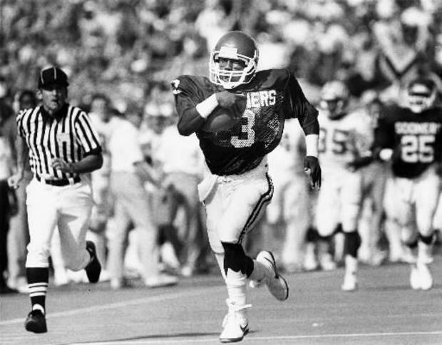 Oklahoma's team award for its most inspirational walk-on player is named after 1980s standout Derrick Shepard. OKLAHOMAN ARCHIVE PHOTO