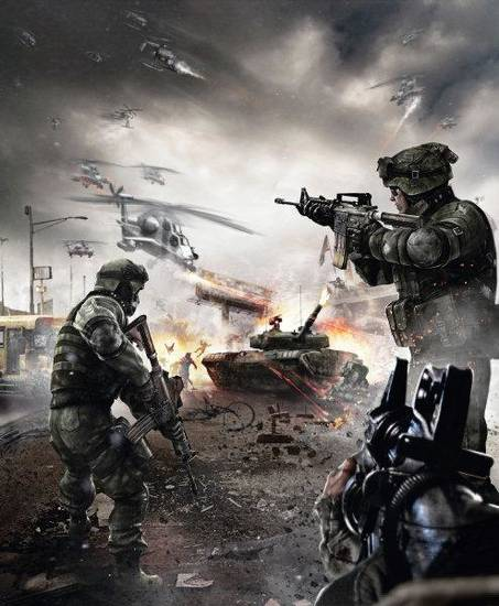 "U.S. resistance in a scene from the THQ game ""Homefront."" Photo provided <strong></strong>"