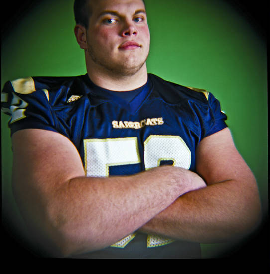 Mason Myers of Southmoore High School on Monday, Dec. 14, 2009, in Oklahoma City, Okla.   Photo by Chris Landsberger, The Oklahoman