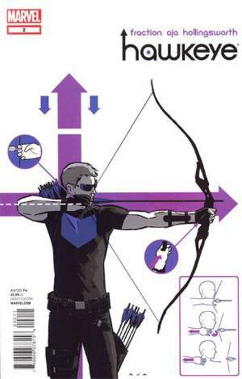 �Hawkeye� issue No. 2. Marvel Comics.