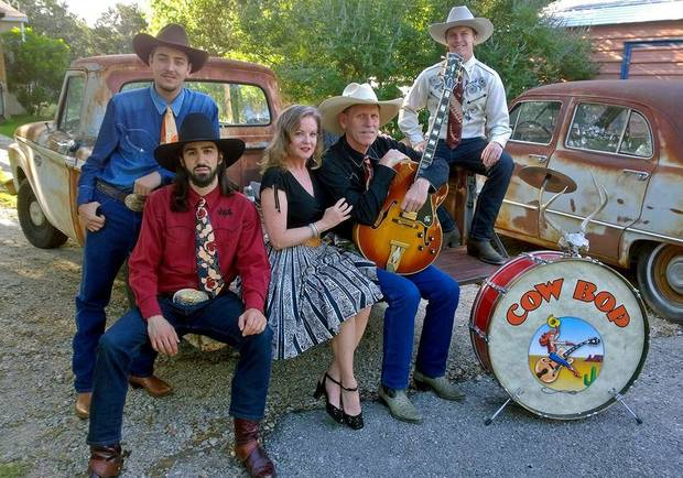 Cow Bop will play tonight at the Blue Door. Photo provided.