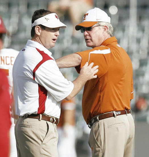 The Red River Rivalry is still No. 1 on Berry Tramel's list of Big 12 football games. Photo by Bryan Terry, The Oklahoman