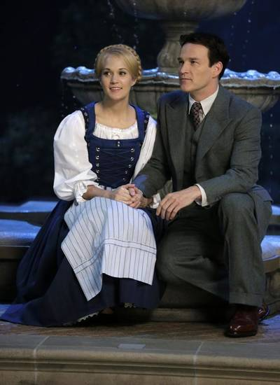 "Carrie Underwood and Stephen Moyer appear in ""The Sound of Music Live!"" Photo provided."