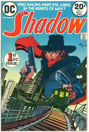 "Larry Latham says the 1970s ""The Shadow"" was a high point for the character in comics."