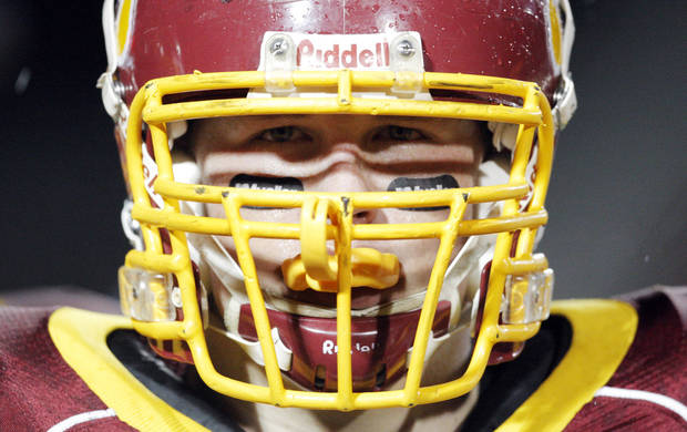 Putnam City North's Dustin Decker is ready to fight for his country.