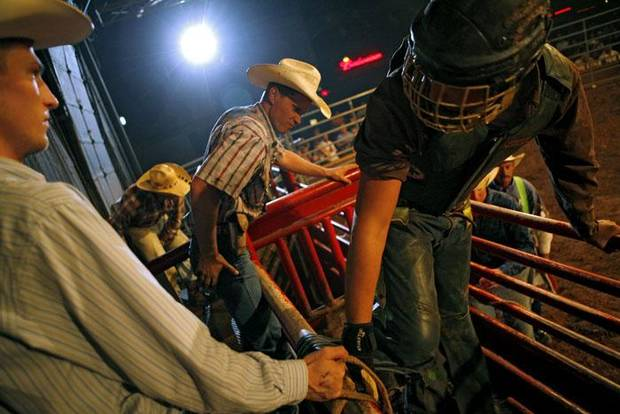 Club Rodeo 8-22-08 Oklahoma City. By John Clanton, The Oklahoman