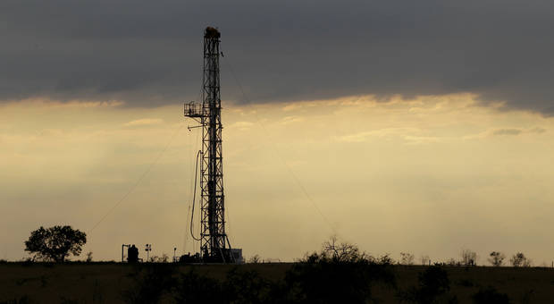 This May  2012 file photo shows a drilling rig near Kennedy, Texas. AP Photo <strong>Eric Gay</strong>