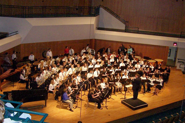 The CODA Middle School Honor Band<br/><b>Community Photo By:</b> Audrey Heise-Fijalka<br/><b>Submitted By:</b> Audrey, Harrah