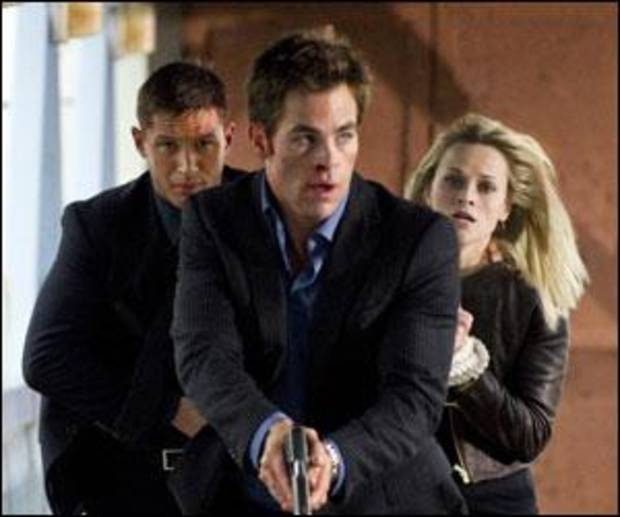 Tom Hardy, Chris Pine, Reese Witherspoon