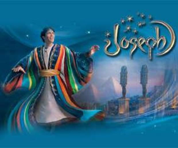 """Joseph"" appears on the stage of Sight & Sound Theatre"