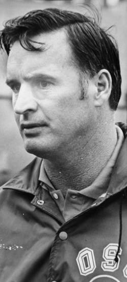Mar. 27, 1973: Oklahoma State University (OSU) football coach Jim Stanley