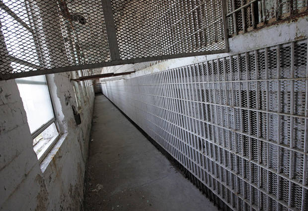 A view of the East Cellhouse at the Oklahoma State Penitentiary in McAlester, Okla., Wednesday, Dec. 7, 2011. The East and West Cellhouses are no longer used. Photo by Nate Billings, The Oklahoman