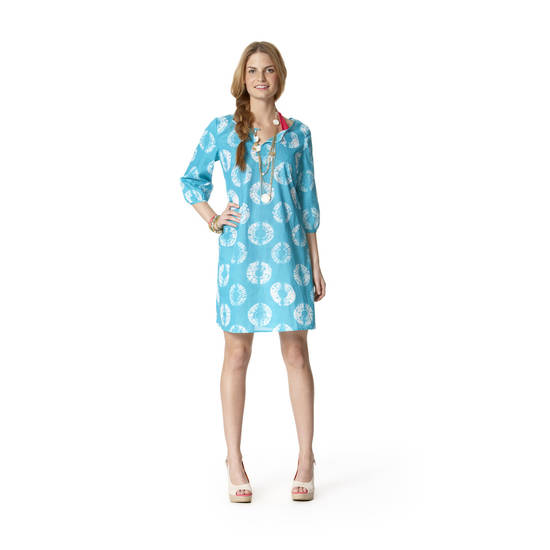 Calypso St. Barth for Target fan-print dress, $36.99.