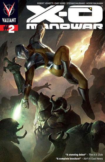 �X-O Manowar� No. 2. Valiant Comics.