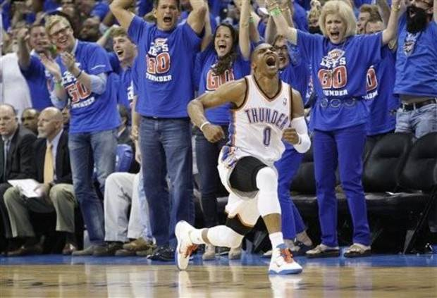 The Oklahoma City Thunder 'Best of…' Awards for the 2012-13 sea…