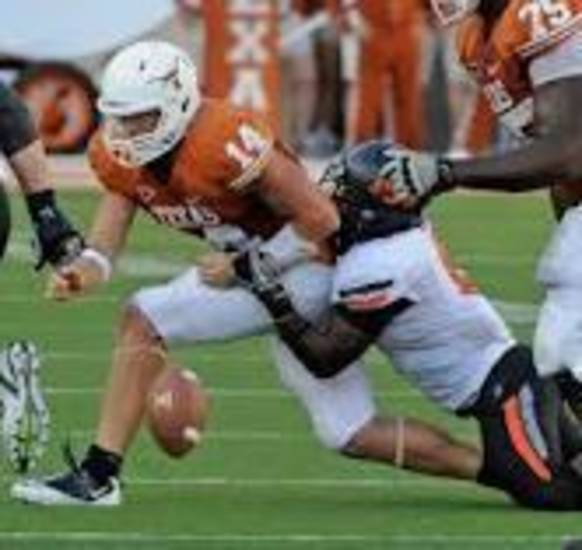 Daytawion Lowe looks to mess with Texas again.