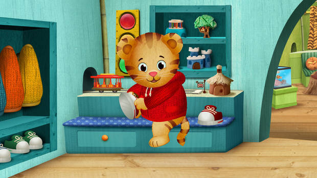 �Daniel Tiger�s Neighborhood,� the first TV show from The Fred Rogers Company since �Mister Rogers� Neighborhood,� premieres at 10 a.m. Monday  on OETA-13. PBS Photo