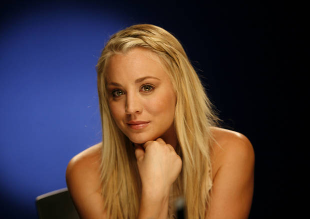 "This Sept. 25, 2012 photo shows actress Kaley Cuoco in New York. Cuoco stars as Penny in the CBS hit comedy, ""The Big Bang Theory."" (AP Photo/John Carucci)"