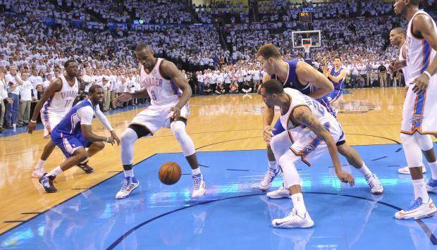 Five observations from the Thunder's dramatic 105-104 Game 5 wi…