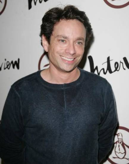 Chris Kattan during an appearance in Los Angeles (AP Photo by Branimir Kvartuc))