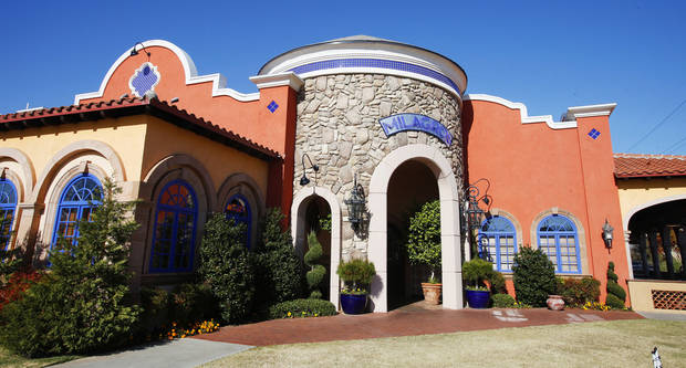 Exterior of Casa De Los Milagros Mexican Restaurant and Cantina in Oklahoma City. <strong>PAUL B. SOUTHERLAND - PAUL B. SOUTHERLAND</strong>