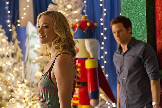 Yvonne Strahovski as Hannah McKay and Michael C. Hall as Dexter Morgan (Season 7, episode 6) - Photo: Randy Tepper/Showtime - Photo ID: dexter_706_1784